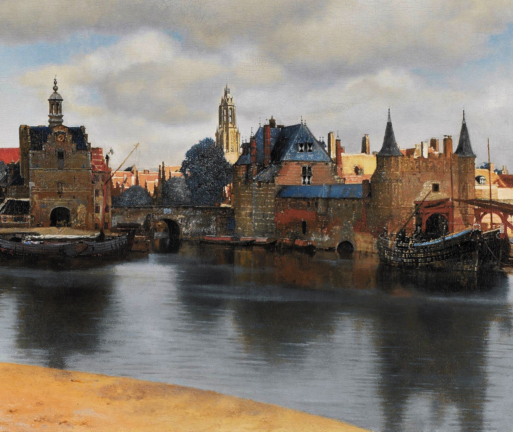 """Place Poem: """"It Was Raining in Delft"""""""