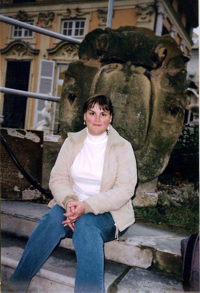 Valerie Fioravanti in Italy