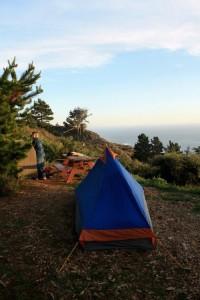 Big Sur campsite