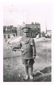 Joelle's grandfather in the Bronx, circa 1920
