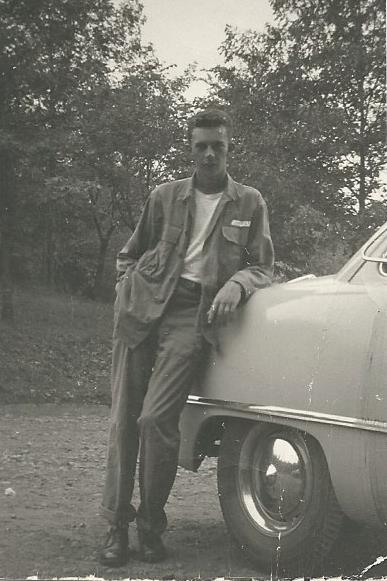 Renée's dad, Norm Moffett, circa 1953
