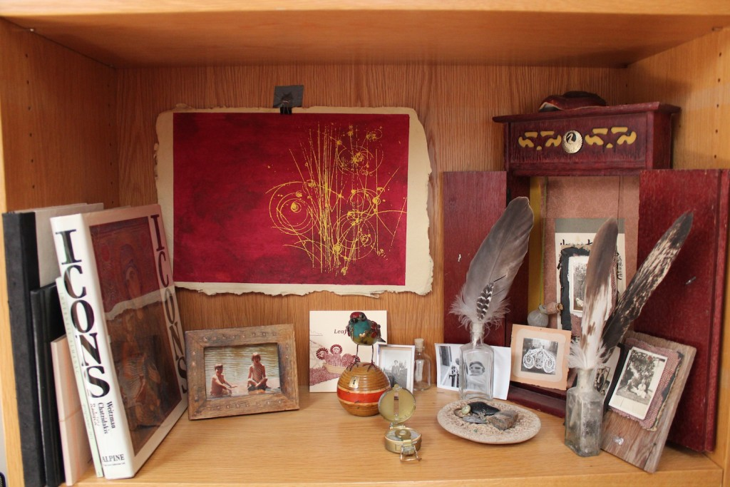 Stacy's altar shelf